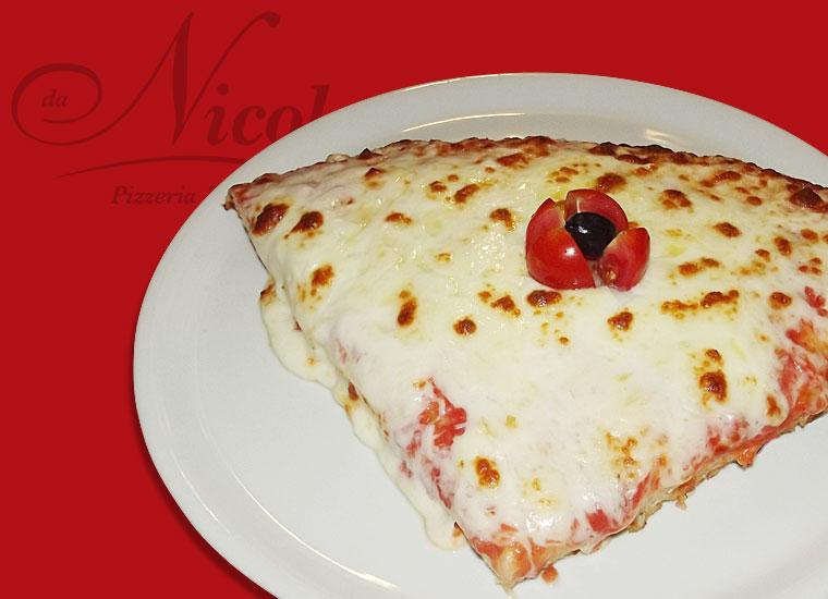 PIZZA AL TRANCIO TOP! Margerita