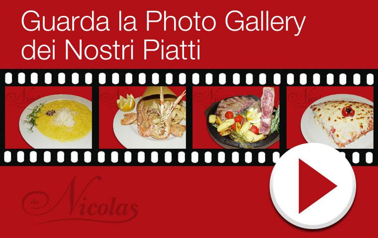 Cucina e Musica dal Vivo - Guarda la Photo Gallery dei Nostri Piatti