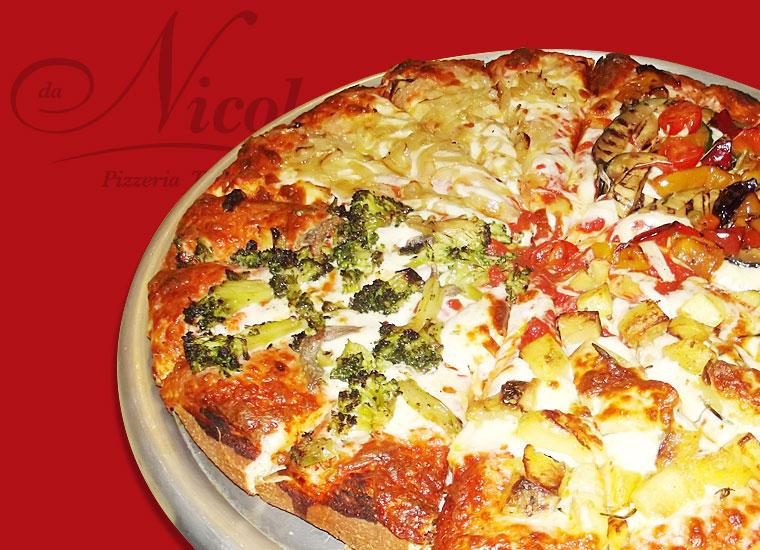 PIZZA AL TRANCIO TOP! La Creativa Cipolle, Patate & Verdure